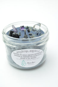 Protect Yo Self Organic Soy Wax Crystal Candle