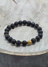 Lava Oil Diffuser Stretch Bracelet