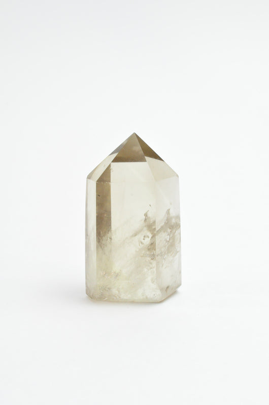 Natural Unheated Citrine Tower