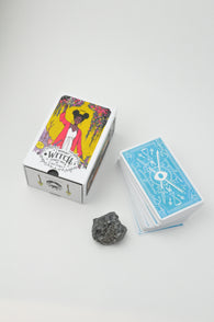 The Modern Witch Tarot Box, Cards and Crystal