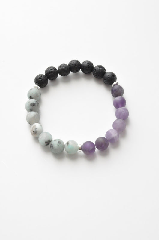 Body Mind and Spirit Crystal Healing Gemstone Bracelet