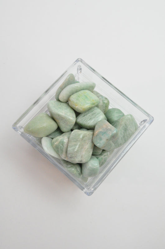 Tumbled Amazonite Crystal Gemstone