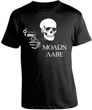 Molon Labe Shirt by Tee Shop USA