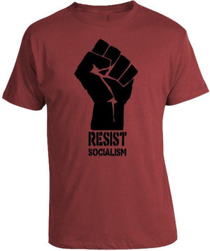 Resist Socialism Shirt by Tee Shop USA