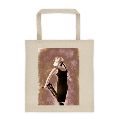 """Cowgirl Up!"" Tote bag"