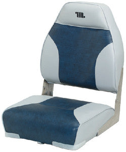 High Back Seat Grey/Navy