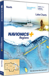 Navionics+ Regional North