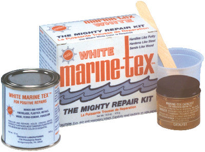 1 Lb. White Marine Tex Kit