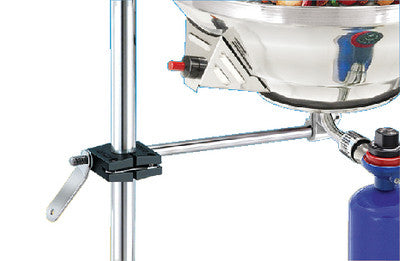 1 Round-Rail Stanchion Brkt