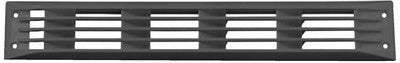Louvered Vent Venturi Black