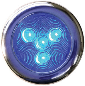 Led Puck Light Ss 3in Blue
