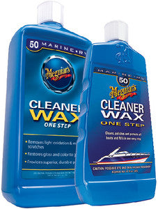 1 Step Boat Cleaner/Wax 16oz
