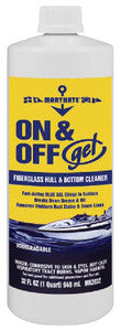 On/Off Gel Hull/Btm Clnr-Quart