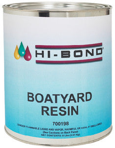 Boat Yard Resin Qt W/Hdnr