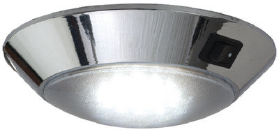 Led Dome Light - Chrome