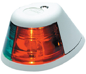 Bi-Color Bow Light-White Plas