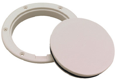 Pry-Up Deck Plate - 6 White