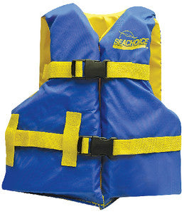 Blue/Yellow Youth Vest 25-29