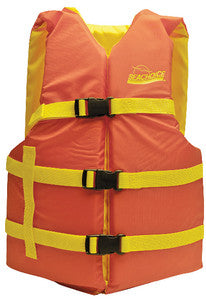 Orange/Yellow Univ Vest 30-52