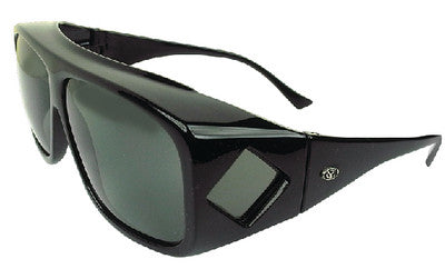 Ot Blk Frame Grey/Green Large