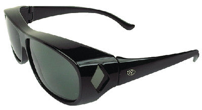 Ot Blk Frame Grey/Green Medium
