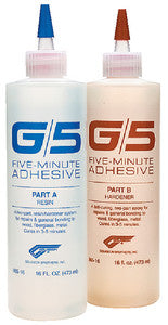 G/5 Adhesive  Two-Part  1/4 Pt