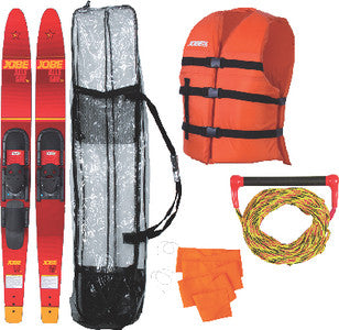 Combo Ski Kit Allegre 67in Red