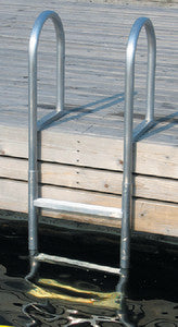 Dock Ladder 3 Step Welded Alum