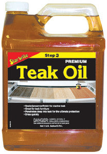 Premium Golden Teak Oil Gallo