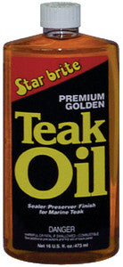 Premium Golden Teak Oil Quart