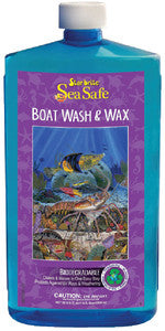 Sea Safe Wash & Wax Qt