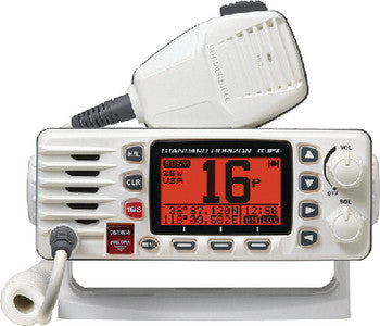 Eclipse Fixed Mount Vhf White