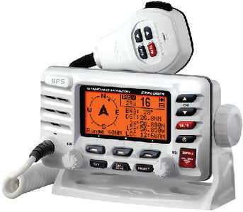 Fixed Mount Vhf With Gps (Wht)