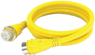 50a 250v Cordset 50ft Yellow