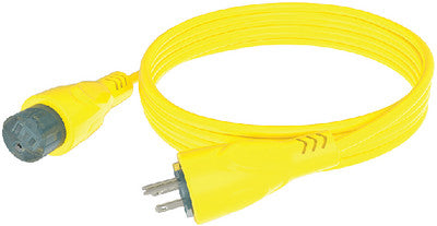 15a Extension Cord 50' Yel