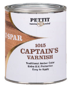 Captain's Varnish-Quart