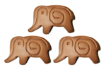 43% Rice Milk Chocolate Elephant 3 Pack