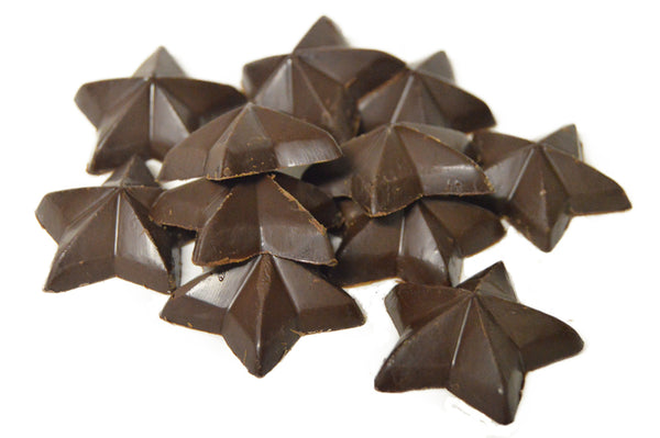 55% Semi Sweet Chocolate Stars 5LBS