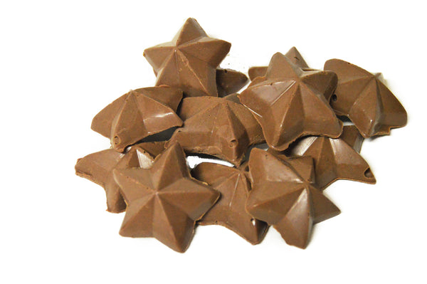 43% Rice Milk Chocolate Stars 5LBS