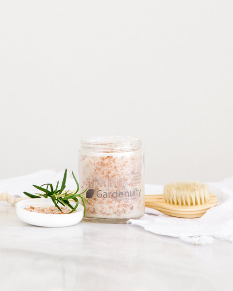Organic Rose Bud & Himalayan Bath Salts