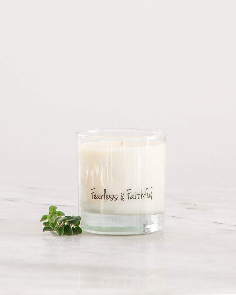 Fearless & Faithful Soy Candle