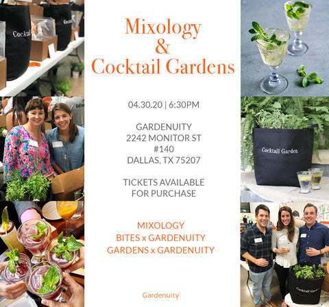 Mixology & Cocktail Gardens | Event Ticket - April 30th