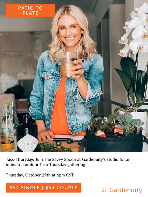 Taco Thursday with Savvy Spoon | October 29th