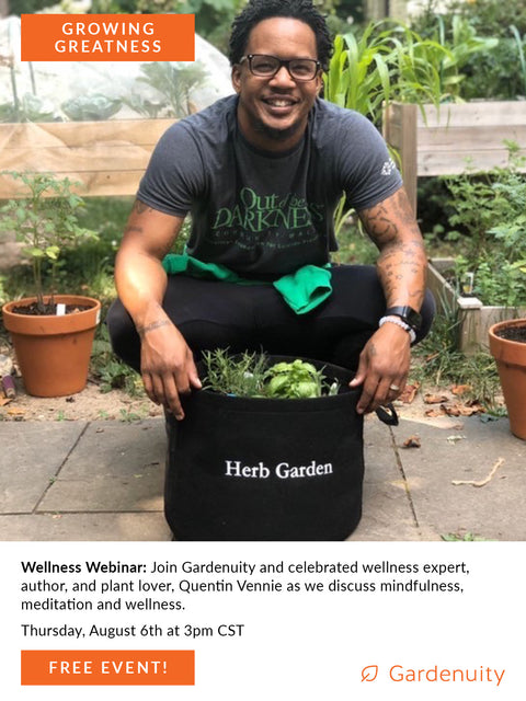 FREE Wellness Webinar: Virtual Event with Quentin Vennie | August 6th