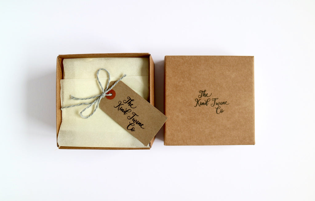 Gift box for send a smile ireland and uk twine