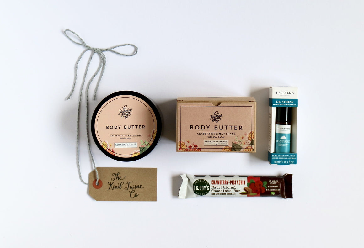 Gift box for send a smile spread cheer wellbeing and pampering