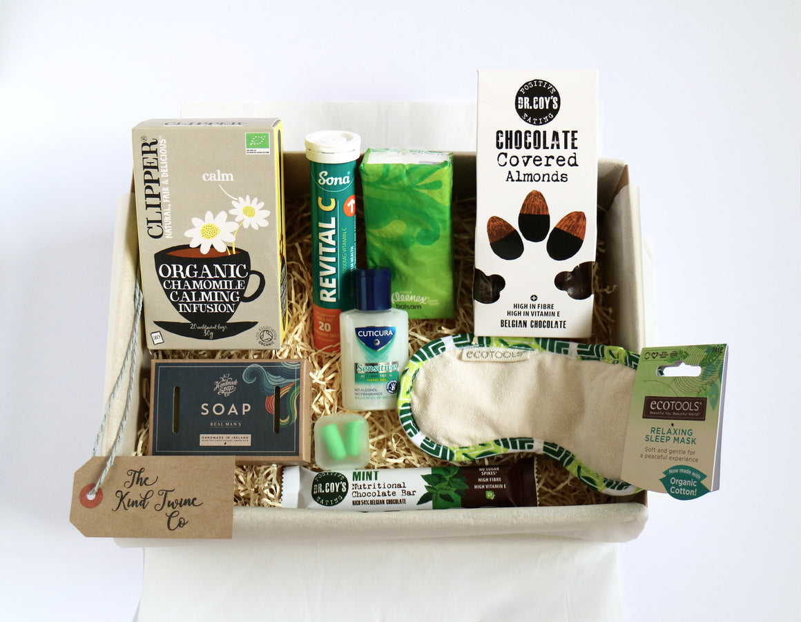 mens get well soon hamper and gift box