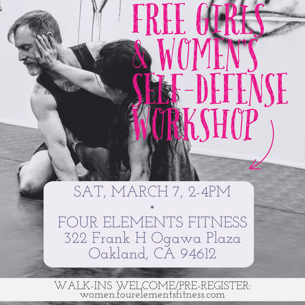 Free Girls and Women's Self-defense Workshop - March 7, 2020