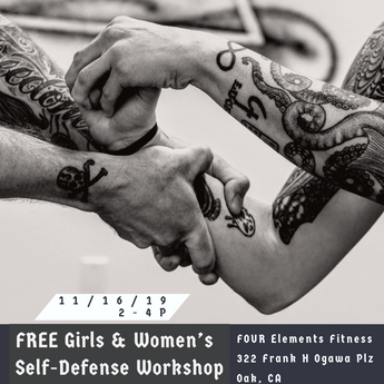 Girls and Women's Self-defense in November!