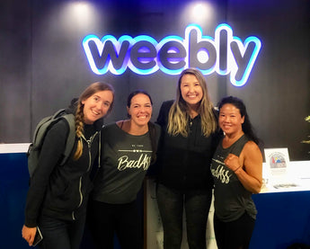 Self-defense Workshop at Weebly Inc.